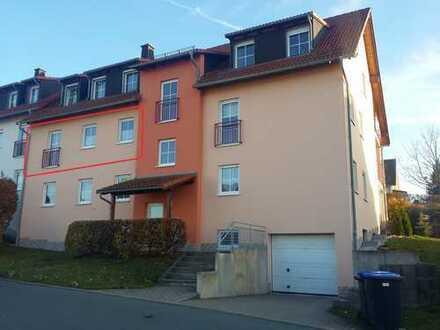 Moderne, sonnige und ruhige 3-Raum ETW in Adorf mit Tiefgarage!!!