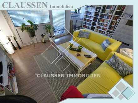 Gut geschnittene 3 Zimmer-Wohnung mit Südbalkon in beliebter Lage seitlich der Biebricher Allee