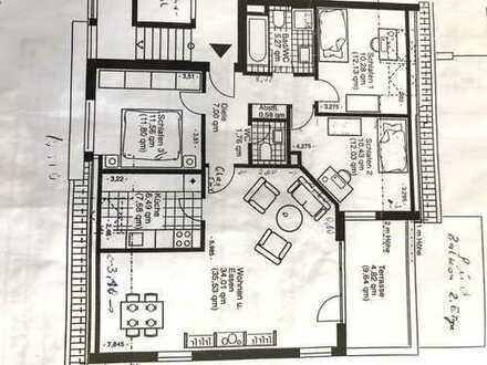 Ansprechende Wohnung mit vier Zimmern in Dortmund