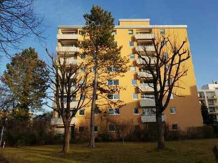 Sonnige 3 1/2 Zimmer-Wohnung über den Dächern von Aubing