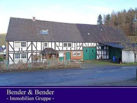 Historisches Bauernhaus mit Nebengebäude am Ortsrand gelegen!