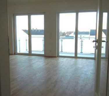 NEU - Nähe Bhf! - 4-Zimmer-DG-Whg, 106 m², hohe Räume, EBK, 2 Bäder, Lift, TG, Erstbezug n.Vereinb
