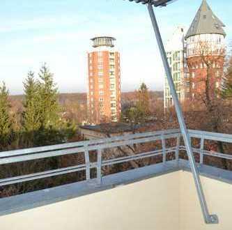 4 Zimmer im Dachgeschoss mit Balkon!