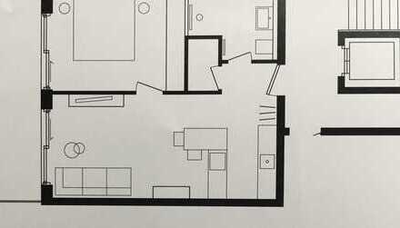 Erstbezug: stilvolle 2-Zimmer-Terrassenwohnung mit Einbauküche und Balkon in Lorch-Waldhausen