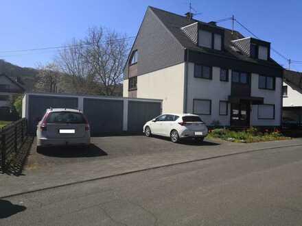 Gepflegte 3-Raum-Erdgeschosswohnung mit Terrasse u. Garten in Spay