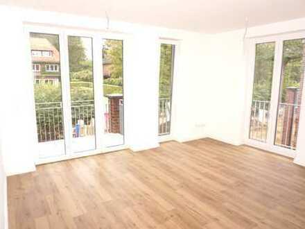 Exklusives Wohnen im Eckerkamp 26 - 30/Neubau KfW 55/2-Zimmer-Wohnung mit Balkon und TG-Stellplatz