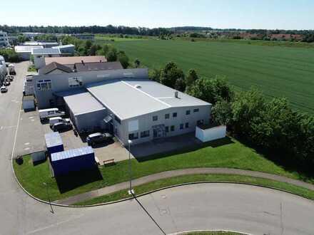 Produktionshalle und Lager mit Bürotrakt