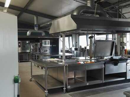 Professionelle Catering-Großküche mit hervorragender Ausstattung zu verpachten