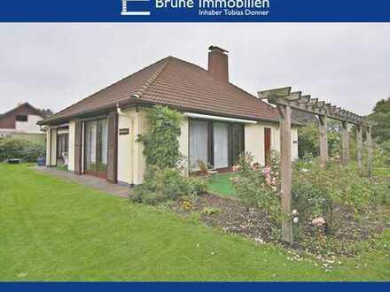 BRUNE IMMOBILIEN - Loxstedt-Bexhövede: Ebenerdig - Hochwertig - Ausbaufähig
