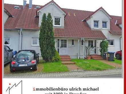 * Gemütliches Reihenhaus mit Süd-Terrasse ~ kl. Garten ~ G-WC ~ gr. Hobbykeller ~ DD-Weißig