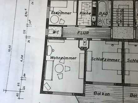 Exklusive, sanierte 3-Zimmer-Wohnung mit Balkon und EBK in Erdmannhausen