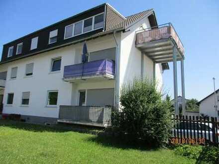 2-Zimmer-Wohnung mit Balkon und Privatgarten