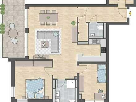 Neubau! 3 Zimmerwohnung in der Stadt