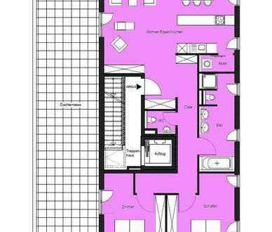"""""""Wohnen an der Brenz"""" 3-Zimmer-Penthousewohnung im 3. Obergeschoss"""