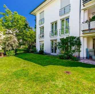 Schöne, helle und barrierefreie 5-Zimmer Eigentumswohnung mit großem Garten