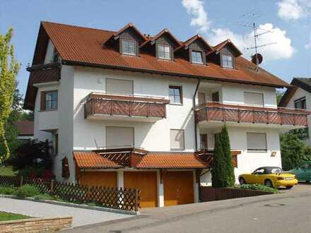 Schöne 2 1/2-Zi.-Whg. (1. OG) mit Balkon u. Garage in A.-Lautlingen (Eisental)