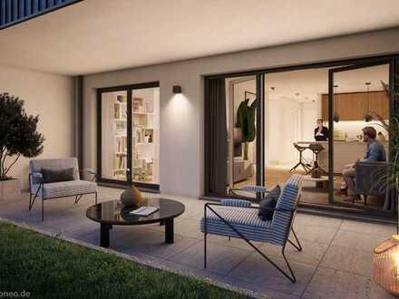 Letzte Penthouse-Wohnung 4 Zimmer mit großer Dachterrasse und Balkon - KFW55