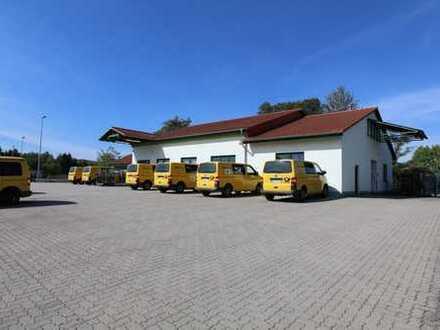 KAPITALANLAGE - Attraktives Logistikgebäude mit tollem Mieter