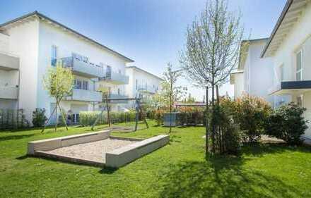 Helle, moderne 2 Zimmer-Süd-Terrassenwohnung in sehr ruhiger Lage! Vermietet!