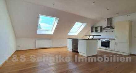 Ch.Schülke- Immobilien, Neuwertige 2-Zimmer-DG-Whg in ruhiger Lage am Ortsrand von Moosburg