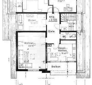 Dreieinhalb Zimmern mit Balkon und Einbauküche in Kümmerazhofen