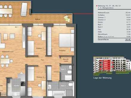 Exklusive, gepflegte 4-Zimmer-Wohnung mit Einbauküche in Boeblingen