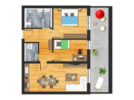 3-Zimmer-Penthauswohnung mit Dachterrasse in Straubing