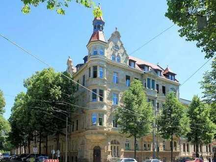 Sanierte Kapitalanlage in imposantem Gründerzeitdenkmal im attraktivsten Viertel Leipzigs!