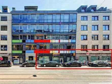 Gastronomiefläche mit Terrasse im Innenhof in Top Citylage in Düsseldorf