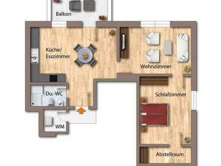 Geräumige 2-Zimmerwohnung im Zentrum von Deggendorf