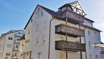Eigenheim statt Miete - 3-Zi-DG-Wohnung mit Balkon, eigenem Garten und Garage