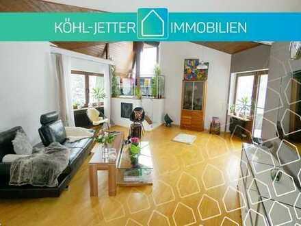 Licht, Raum und Exklusivität! Repräsentative Terrassenwohnung in Albstadt-Ebingen!