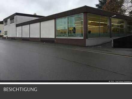 große Gewerbefläche mit Tiefgarage in Homburg-Saar Nähe Bahnhof