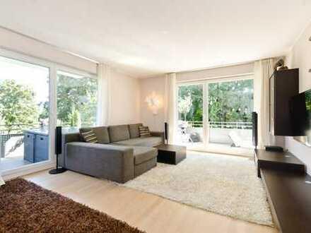 Wunderschöne 4-Zimmer-Wohnung mit 3 Balkonen und Blick ins Grüne, München-Lochhausen