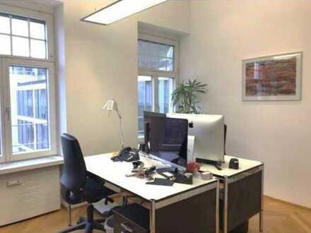 6-Zimmer-Büro am Prinzregentenplatz in herrschaftlichem Altbau - hohe Decken