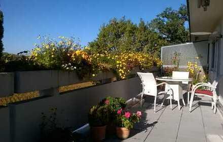 Sonnige Dachterrassen-Wohnung in Gilching nahe S-Bahn