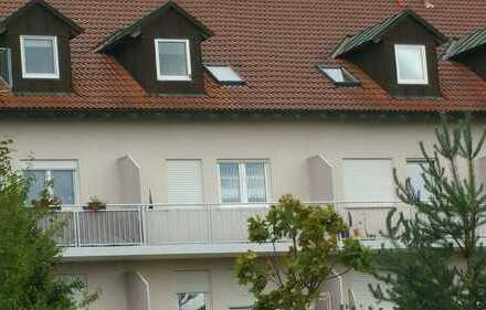 Naunhof- Appartement mit Balkon und Stellplatz