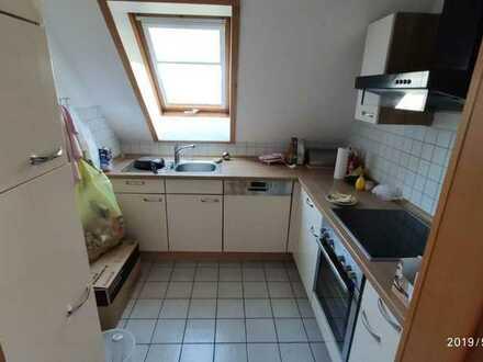 vollmöbliertes Zimmer in Maisonette-Wohnung mit Balkon, direkt an der Hochschule (2 Bäder, Spülmasch