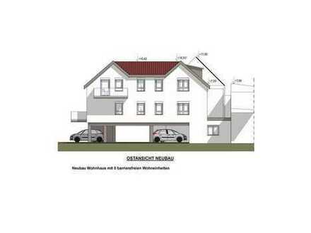 Neubau: Große, helle 3-Zimmer-Dachgeschosswohnung mit Balkon - barrierefrei