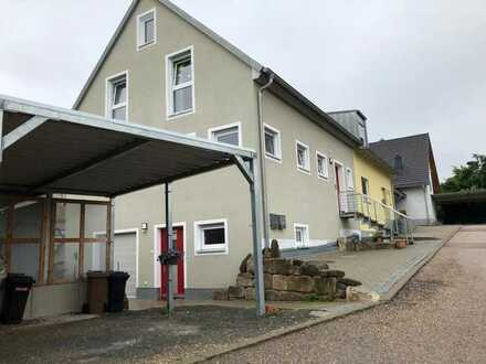 Zentral gelegene KfW 70 DHH in Ansbach / Eyb ab 09/21 zu vermieten