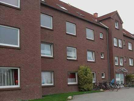 Schöne 4-Zimmerwohnung in Jever mit Balkon und angrenzenden Spielplatz