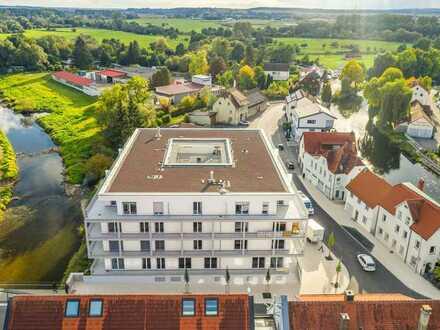 Moderne 3-Zimmer-Wohnung mit Blick auf die Altstadt