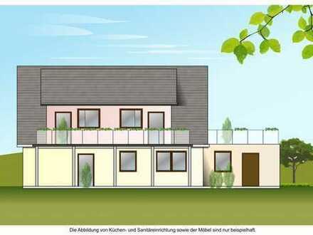 Baugrundstück für 3 MFH mit 3 Wohneinheiten mit Baugenehmigung bei Riepsdorf