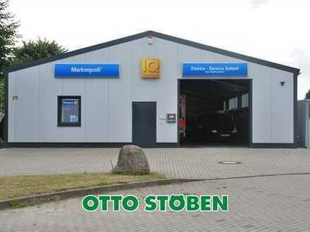 OTTO STÖBEN! Neue Gewerbehalle auf großem Grundstück in Lindau bei Kiel!