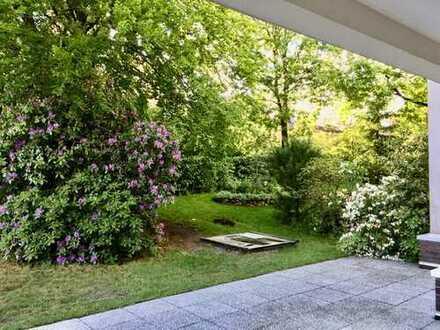 Tolle Erdgeschosswohnung mit Terrasse und Gartenanteil