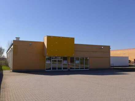 Freie Ladenfläche im Gewerbepark Hohensaas
