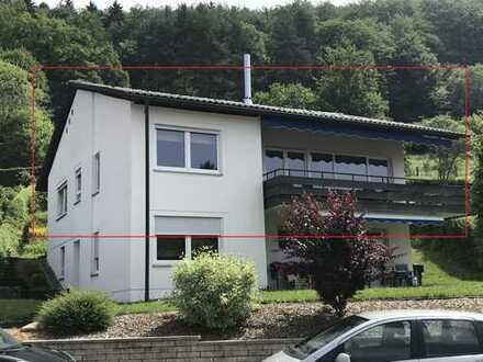 schöne 6-Zimmer-Wohnung mit Balkon + Garten in bevorzugter Lage von Albstadt-Ebingen