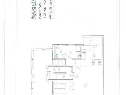 Attraktive Wohnung mit drei Zimmern im Zentrum von Offenburg mit Parkplatz