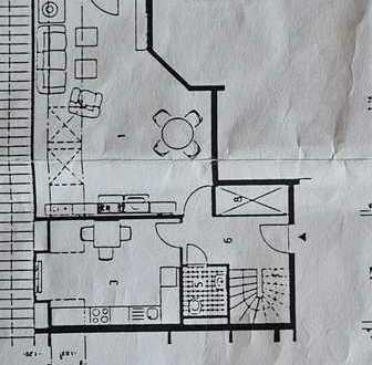 Attraktive 2-Zimmer-Dachgeschosswohnung mit Balkon und Einbauküche in Werder/Havel