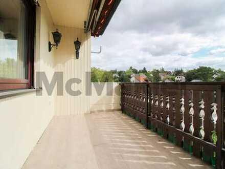Rentabel vermieten oder komfortabel wohnen: Ca. 240 m² EFH mit Einliegerwohnung und 2 Balkonen